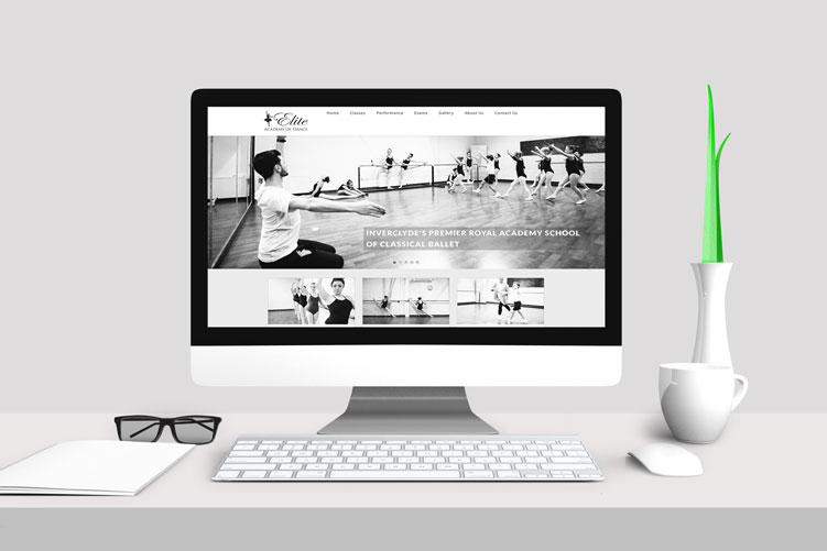 Ballet Website Design