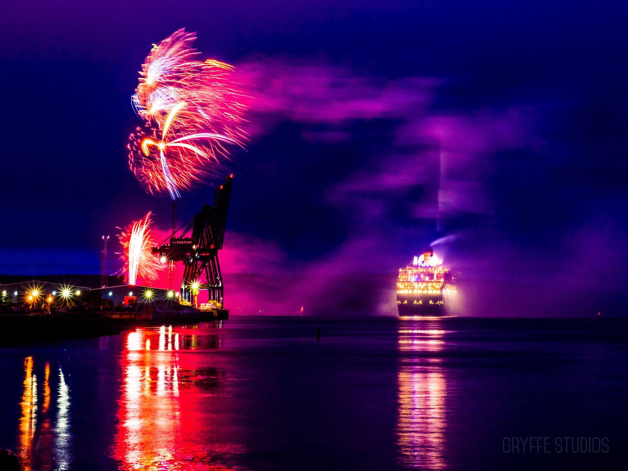 Inverclyde Tourism - QM2 Cruise Ship