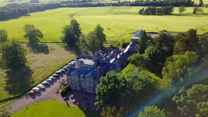 Aerial Photography Sheildhill Castle