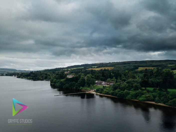 Aerial Photography Loch Lomond