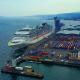 Msc Preziosa Cruise Ship - From the Sky, Greenock
