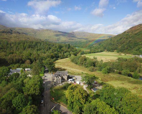 Aerial Film Loch Lomond