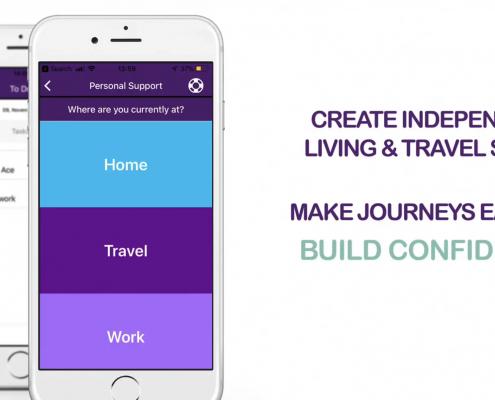 Enable Scotland EnableME Travel App Promo